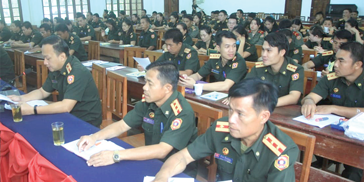 Regiment 605 conducts short term logistic training